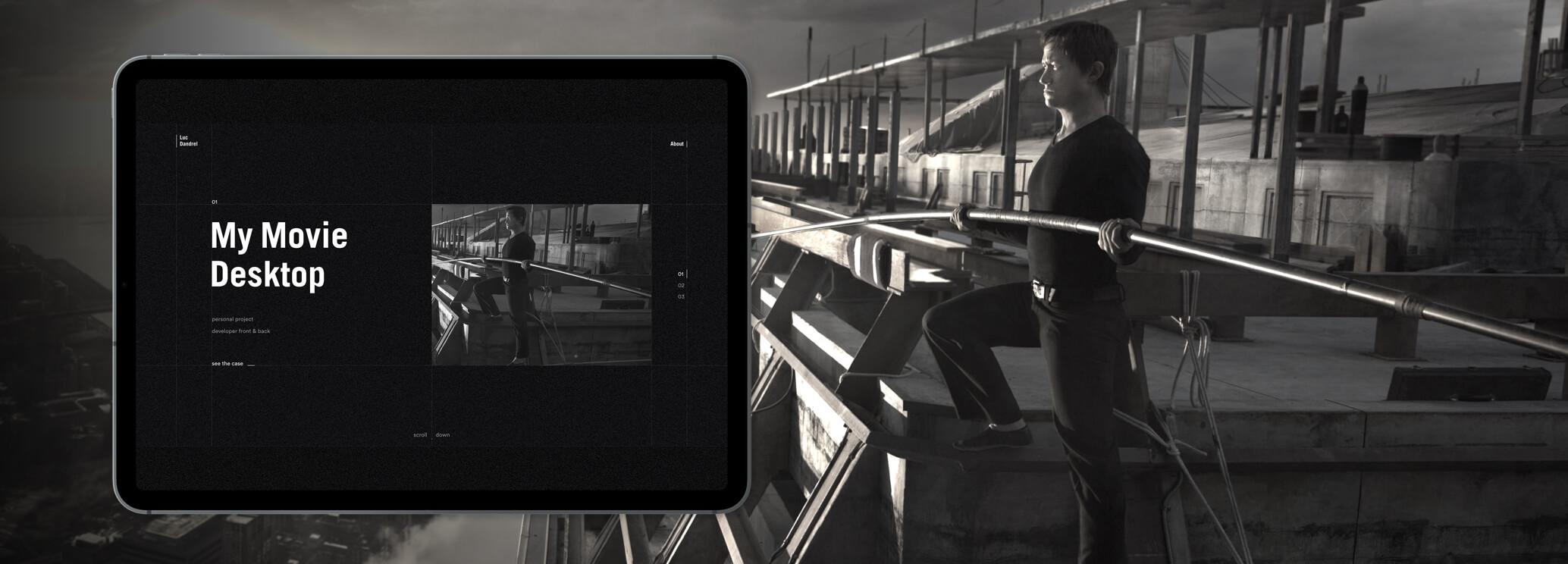 Thumbnail of the Luc Dandrel portfolio project
