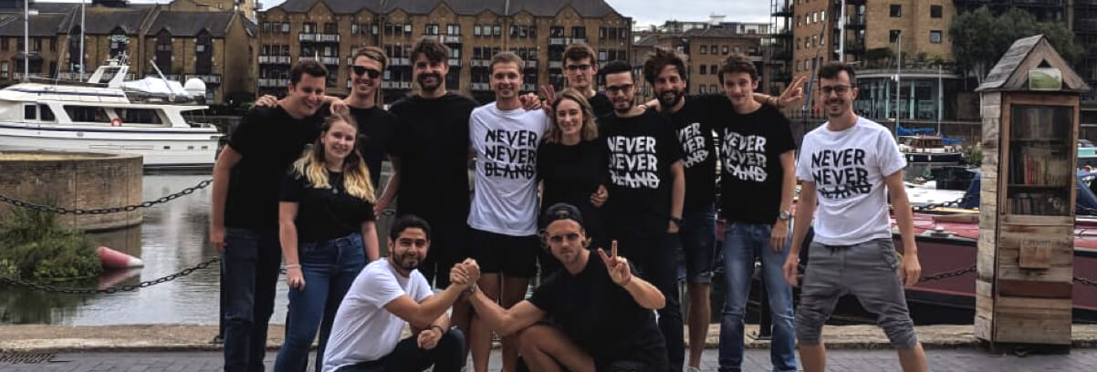 Picture of the Neverbland team