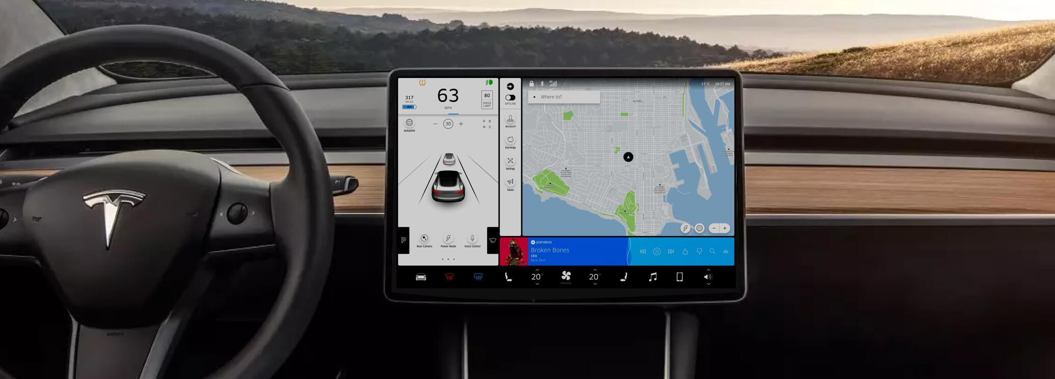 Thumbnail of Tesla x Uber project