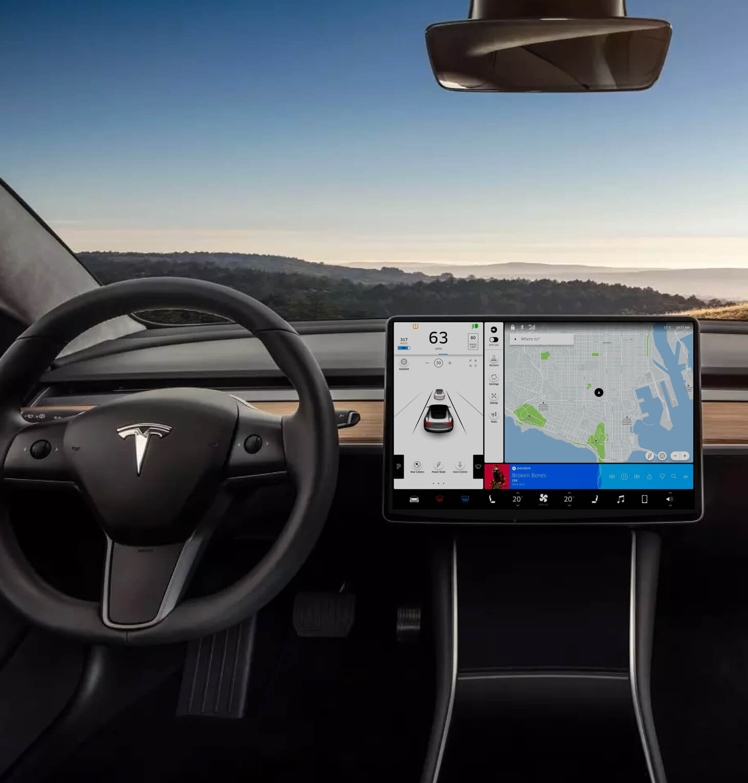 Thumbnail of the Tesla x Uber project