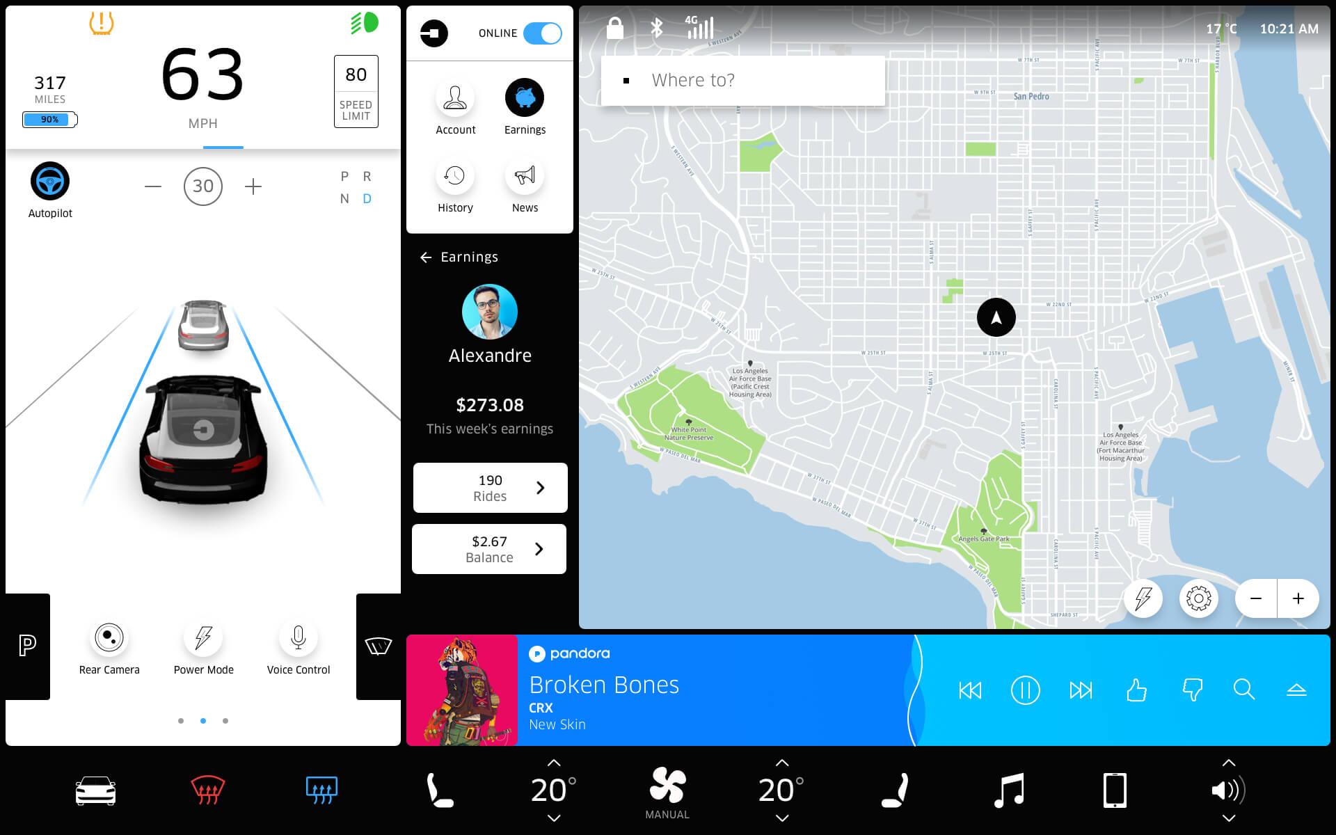 Tesla-touchscreen-earnings