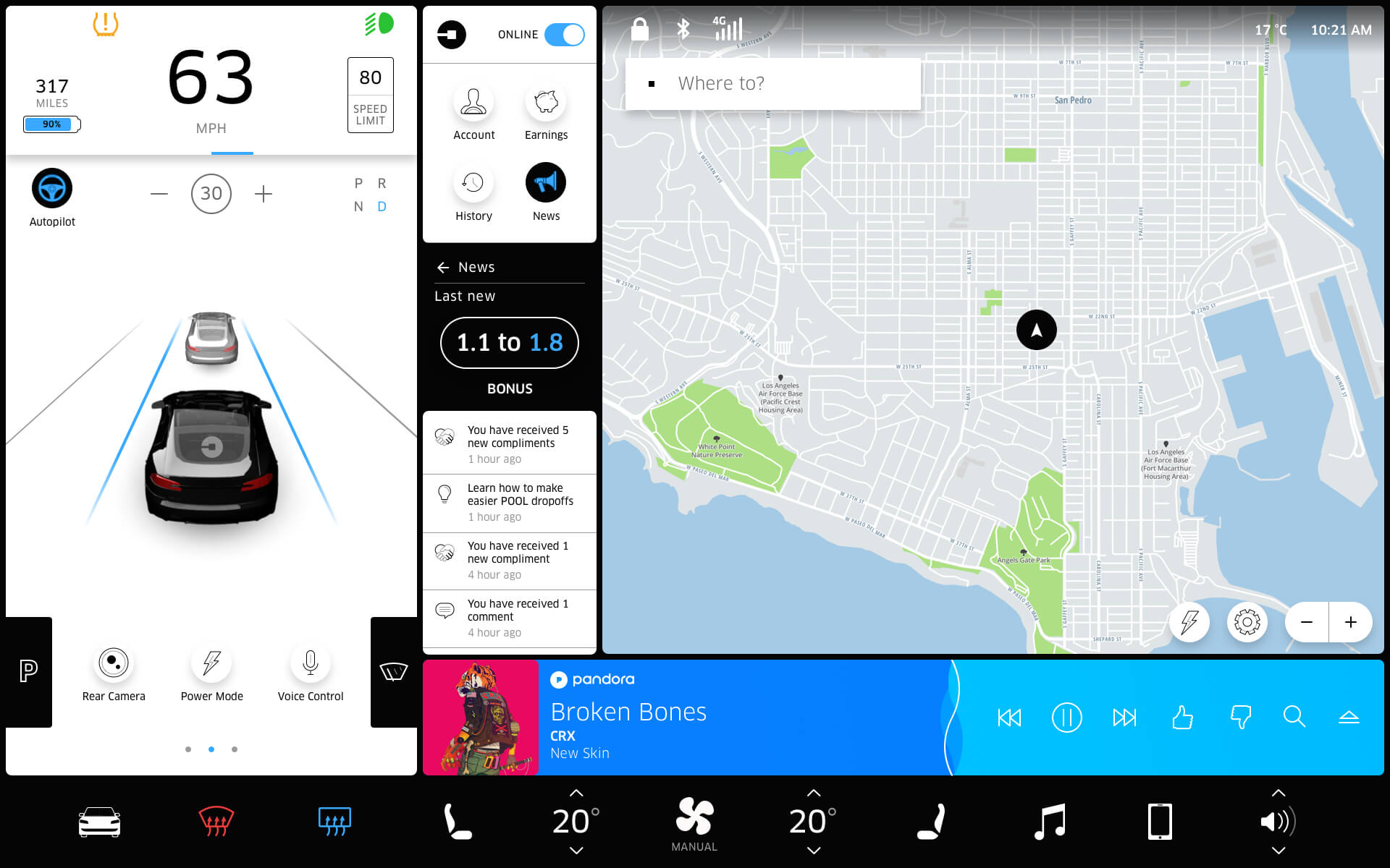 Tesla-touchscreen-news