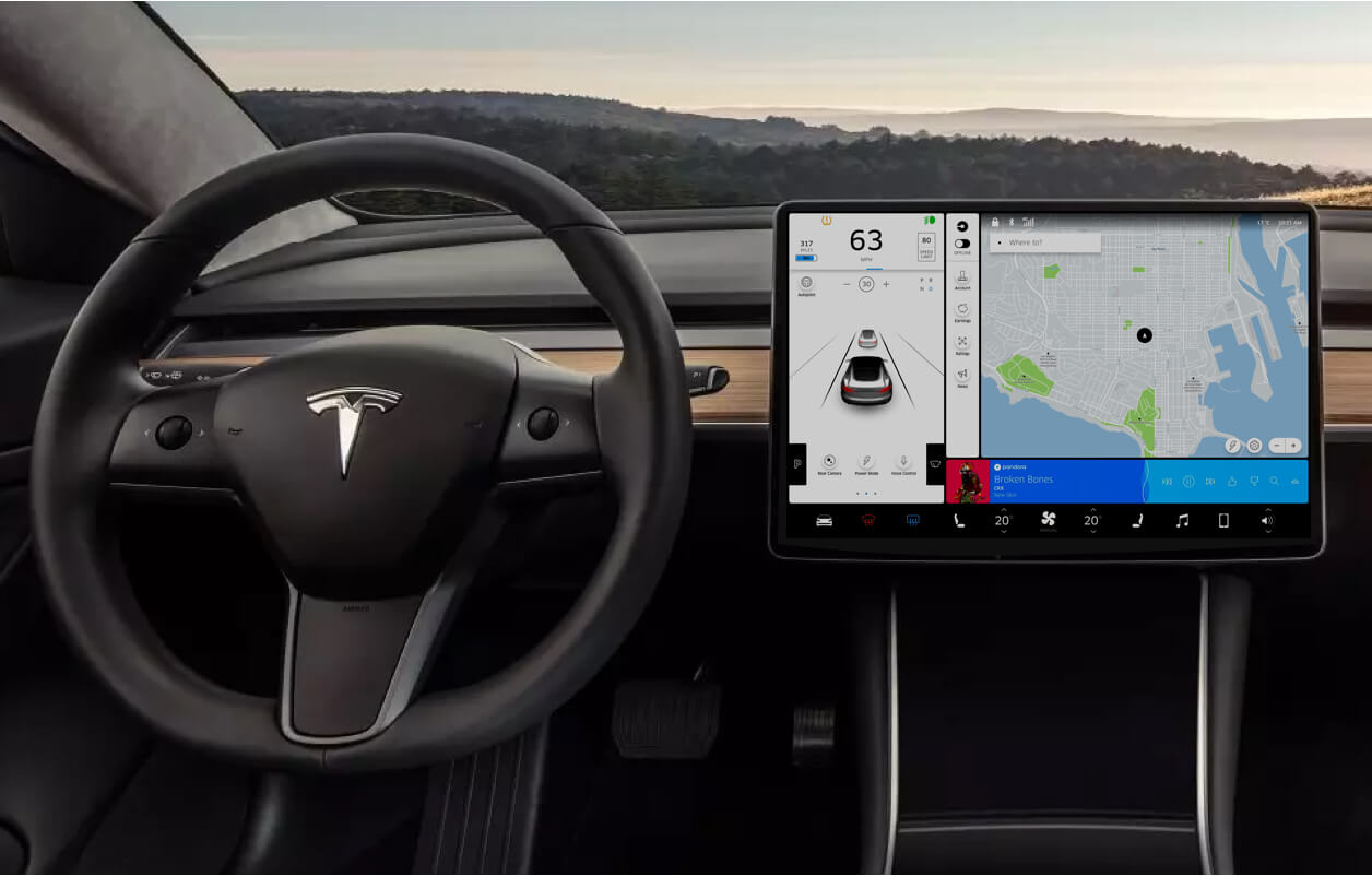 Cover of the Tesla x Uber case study